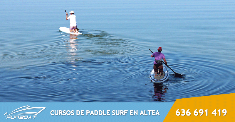 Curso de Paddle Surf en Altea, Alicante