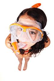 Snorkel máscara y gafas