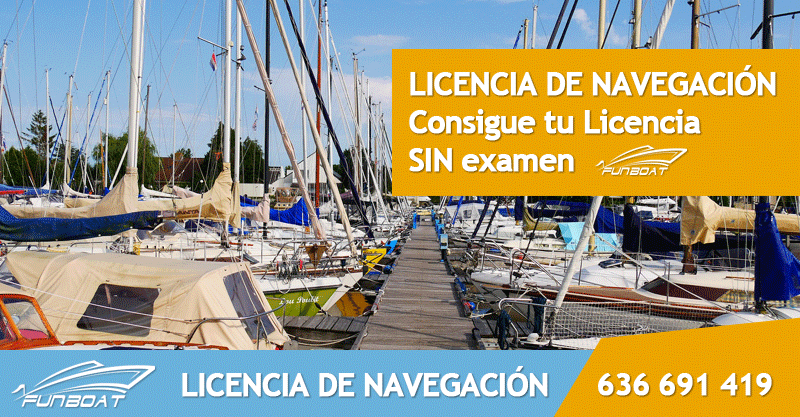 Licencia de navegación titulín Altea Alicante