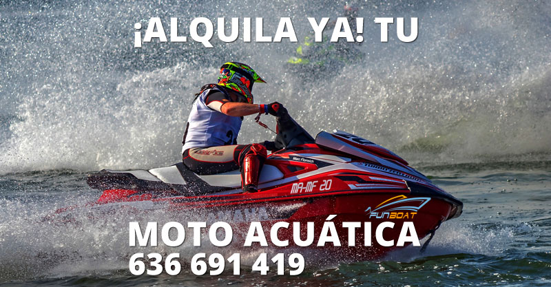 Alquiler motos de agua Altea, Alicante