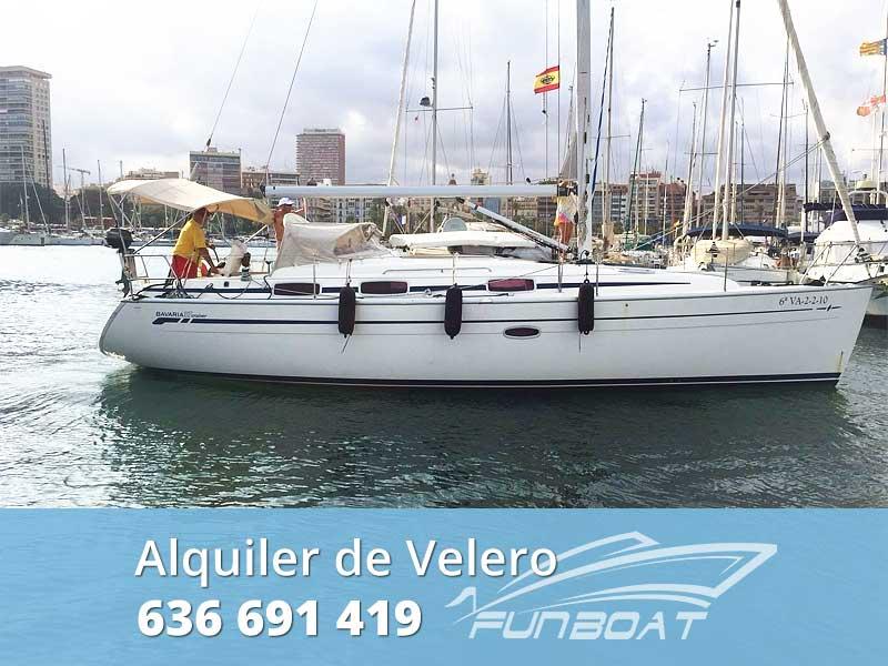 Alquiler velero Alicante