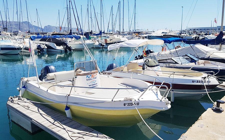 Alquiler barco Altea - Tramontana