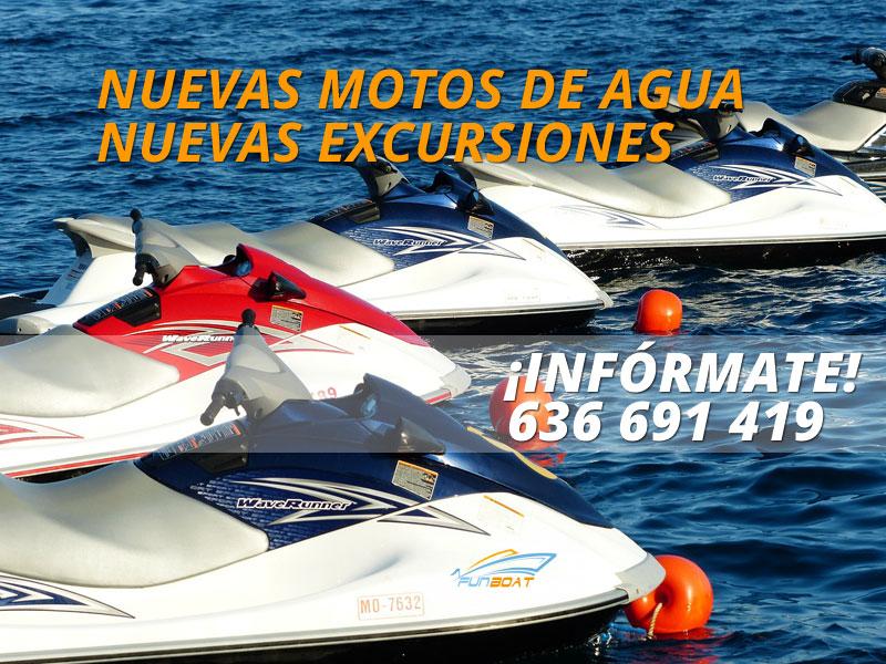 Alquiler motos de agua en Altea, Alicante
